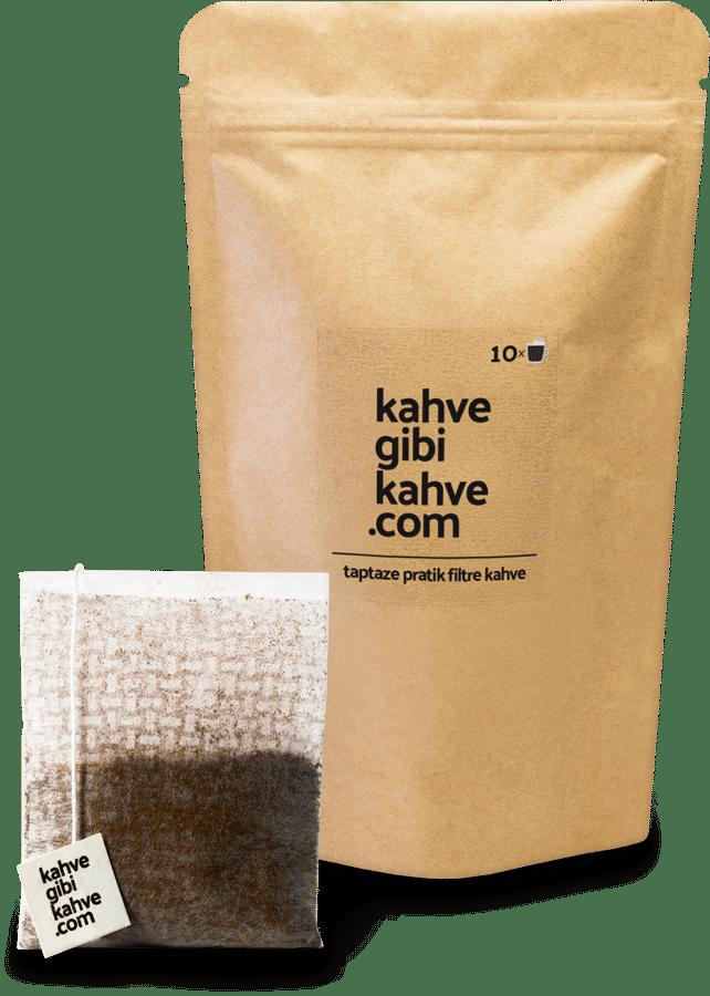 Kahvegibikahve Pratik Filtre Kahve