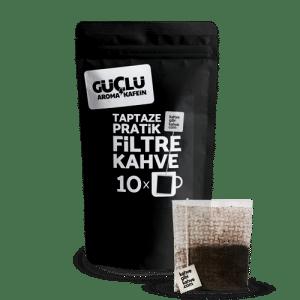 10'lu Pratik Filtre Kahve – Güçlü Paket