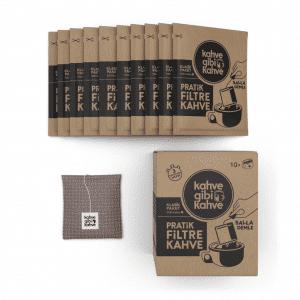 10'lu Pratik Filtre Kahve – Klasik Paket