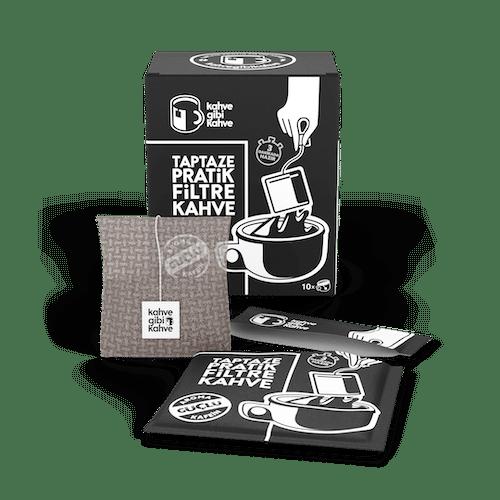 Pratik Filtre Kahve 10'lu Güçlü Paket